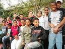 large black family